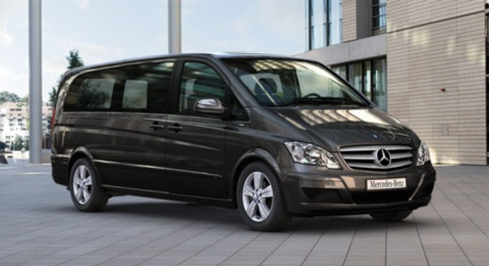 bucharest airport to bucharest city minivan transfer mercedes viano
